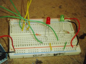 Lab 2 switch, breadboard